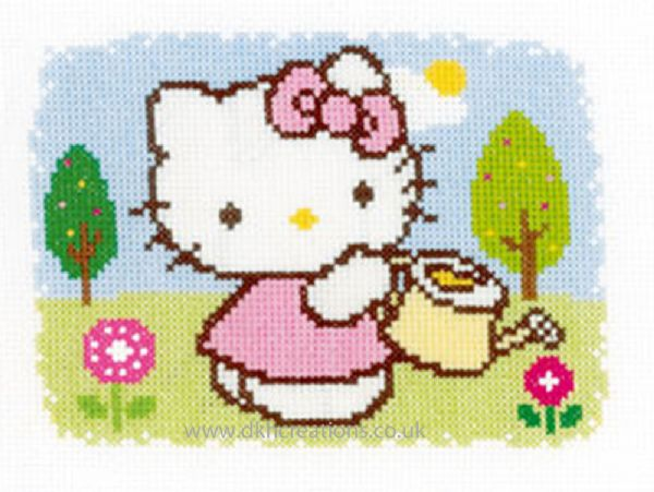 Hello Kitty Spring Cross Stitch Kit
